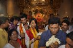 Mugdha Godse, Kushal Tandon visits Siddhivinayak Temple for the Muhurat of her film on 4th June 2015 (19)_557171cd793af.JPG