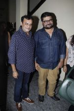Paresh Ganatra, Deven Bhojani spotted outside PVR Juhu after watching Dil Dhadakne Do on 4th June 2015