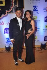 Ravi Dubey, Sargun mehta at Gold Awards in Filmistan on 4th June 2015 (135)_557182c6ad3d0.JPG