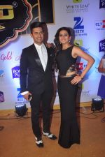 Ravi Dubey, Sargun mehta at Gold Awards in Filmistan on 4th June 2015