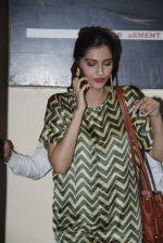 Sonam Kapoor spotted outside PVR Juhu after watching Dil Dhadakne Do on 4th June 2015