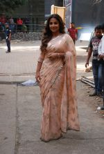 Vidya Balan promotes Hamari Adhuri Kahani in Cine Classic Studio Andheri on 4th June 2015