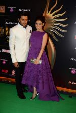 riteish Deshmukh, genelia D Souza at IIFA Awards 2015 in Kuala Lumpur on 5th June 2015