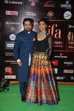 Ayushmann Khurrana at the IIFA Fashion Extravaganza on 6th June 2015