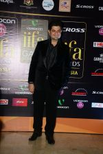 Dabboo Ratnani at Dil Dhadakne Do premiere at IIFA Awards on 6th June 2015