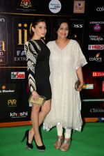 Kanika Kapoor at the IIFA Fashion Extravaganza on 6th June 2015
