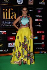 Neha Dhupia at the IIFA Fashion Extravaganza on 6th June 2015