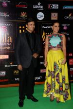 Neha Dhupia, Vivek Oberoi at the IIFA Fashion Extravaganza on 6th June 2015