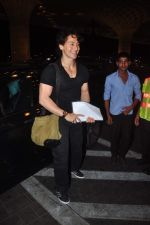 Tiger Shroff leave for IIFA on 6th June 2015