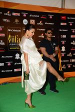 Neha Dhupia at IIFA 2015 Awards day 3 red carpet on 7th June 2015