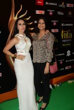 Sana Khan at IIFA 2015 Awards day 3 red carpet on 7th June 2015