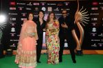 Tiger Shroff, Jackie Shroff at IIFA 2015 Awards day 3 red carpet on 7th June 2015