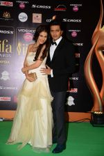 genelia D Souza, Riteish Deshmukh at IIFA 2015 Awards day 3 red carpet on 7th June 2015