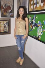 Ameesha Patel at cpaa art exhibition in Mumbai on 8th June 2015