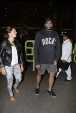 Rocky S arrive from IIFA on 8th June 2015
