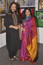 Roop Kumar Rathod, Sonali Rathod at cpaa art exhibition in Mumbai on 8th June 2015 (14)_5576b15b741de.JPG