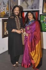 Roop Kumar Rathod, Sonali Rathod at cpaa art exhibition in Mumbai on 8th June 2015 (15)_5576b136a81de.JPG