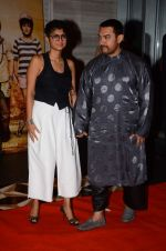 Aamir Khan, Kiran Rao at PK success bash in Mumbai on 10th June 2015