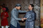 Aamir Khan, Ranveer Singh at PK success bash in Mumbai on 10th June 2015