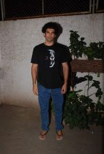 Aditya Roy Kapur at Vidya Balan hosts Hamari Adhuri Kahani screening for family on 10th June 2015