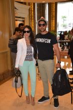 Aftab Shivdasani snapped with girlfriend in Malaysia on 11th June 2015