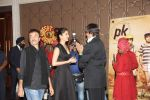 Amitabh Bachchan, Anushka Sharma, Rajkumar Hirani at PK success bash in Mumbai on 10th June 2015