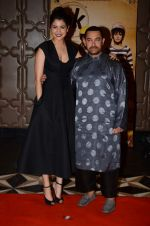 Anushka Sharma, Aamir Khan at PK success bash in Mumbai on 10th June 2015