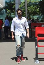 Jackky Bhagnani snapped at airport  on 10th June 2015
