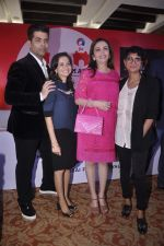 Karan Johar, Nita Ambani, Kiran Rao at MAMI FEST press meet in Mumbai on 10th June 2015