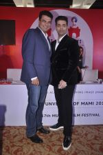 Karan Johar, Siddharth Roy Kapur at MAMI FEST press meet in Mumbai on 10th June 2015