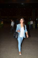 Neha Dhupia snapped at international airport on 10th June 2015