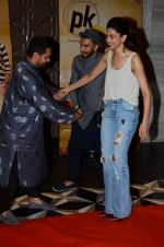 Ranveer Singh, Aamir Khan, Deepika Padukone at PK success bash in Mumbai on 10th June 2015