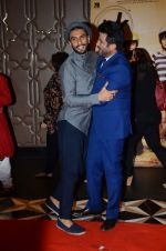 Ranveer Singh, Anil Kapoor at PK success bash in Mumbai on 10th June 2015