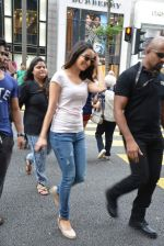Shraddha Kapoor almost stopped traffic as she stops cars passing while she crosses in KL, Malaysia on 11th June 2015