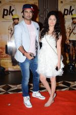 Sushant Singh Rajput, Ankita Lokhande at PK success bash in Mumbai on 10th June 2015
