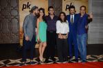 Vidhu Vinod Chopra, Anil Kapoor, Zoya Akhtar, Ritesh Sidhwani, Ranveer Singh at PK success bash in Mumbai on 10th June 2015