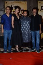 Vidhu Vinod Chopra, Anushka Sharma, Aamir Khan, Rajkumar Hirani at PK success bash in Mumbai on 10th June 2015