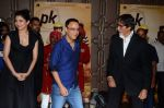 Vidhu Vinod Chopra, Anushka Sharma, Amitabh Bachchan at PK success bash in Mumbai on 10th June 2015