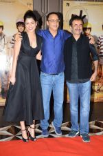 Vidhu Vinod Chopra, Anushka Sharma, Rajkumar Hirani at PK success bash in Mumbai on 10th June 2015