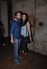 Aditi Rao Hydari, Vishesh Bhatt at Hamari Adhuri Kahani screening on 11th June 2015