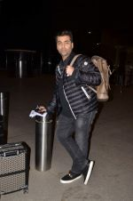 Karan Johar snapped at international airport on 11th June 2015