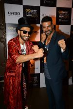 Akshay Kumar, Ranveer Singh at GQ Best-Dressed Men in India 2015 in Mumbai on 12th June 2015