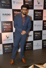 Arjun Kapoor at GQ Best-Dressed Men in India 2015 in Mumbai on 12th June 2015