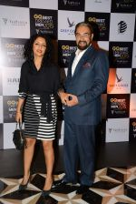 Kabir bedi, Parveen Dusanj at GQ Best-Dressed Men in India 2015 in Mumbai on 12th June 2015 (110)_557c28f11cebd.JPG