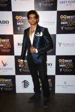 Karanvir Bohra at GQ Best-Dressed Men in India 2015 in Mumbai on 12th June 2015