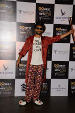 Ranveer Singh at GQ Best-Dressed Men in India 2015 in Mumbai on 12th June 2015