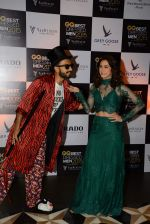 Ranveer Singh, Lauren Gottlieb at GQ Best-Dressed Men in India 2015 in Mumbai on 12th June 2015