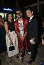 Ranveer Singh, Shruti Hassan at GQ Best-Dressed Men in India 2015 in Mumbai on 12th June 2015