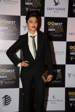 Shruti Haasan at GQ Best-Dressed Men in India 2015 in Mumbai on 12th June 2015