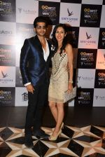Teejay Sidhu, Karanvir Bohra at GQ Best-Dressed Men in India 2015 in Mumbai on 12th June 2015